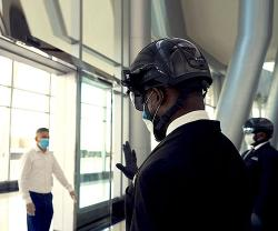 """Smart Helmet"" to Detect COVID-19 Infections in UAE"