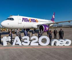 Air Cairo Receives its First Airbus A320neo