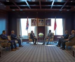 Bahrain's Royal Guard Commander Meets Top Military, Security Officials in UK