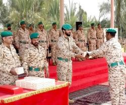 Bahrain's Royal Guard Commander Patronizes Graduation Ceremony