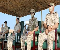 Bahrain Defense Force, National Guard Conduct Two Separate Drills