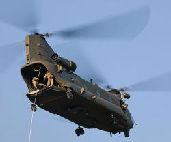Boeing to Supply 14 Extended-Range Chinook Helicopters to UK Royal Air Force