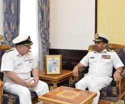 Combined Task Force 150 Commander Visits Oman