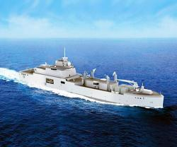 Naval Group Starts Construction of French Navy's First Replenishment Vessel
