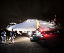 Dassault Aviation Offers Two Falcon Jets for COVID-19 Operation Resilience