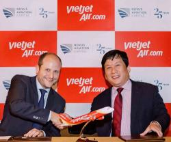 Dubai's Novus, Vietjet Sign MoU for Financing & Leasing of 10 Aircraft
