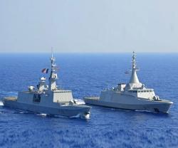 Egypt, France Conduct Naval Drills in Mediterranean Sea