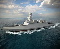 Fincantieri Launches First Corvette for Qatar