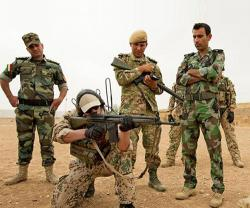 Germany, Holland Suspend Military Training Operations in Iraq