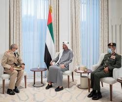 Inspector General of Royal Moroccan Armed Forces Visits UAE