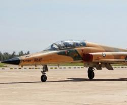Iran's Air Force Commander Tests Overhauled F-5 Fighter Jet