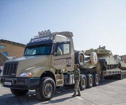 Iran Unveils 'Kian 700' Tank Transporter
