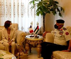 Jordanian Army Chief Receives French Defense Minister
