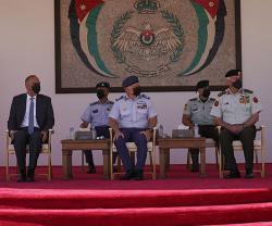 Jordanian King Attends Graduation of 50th Class of Pilot Cadets