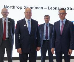 Leonardo, Northrop Grumman to Pursue Future Rotorcraft UAS Opportunities