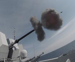 Leonardo Demos Latest Naval Systems at NATO's Formidable Shield 2021 Exercise