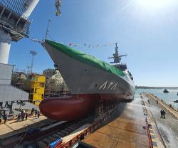 NAVANTIA Launches the First Corvette for Saudi Arabia