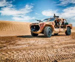 NIMR Automotive Unveils Rapid Intervention Vehicle at IDEX