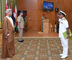National Defence College of Oman Holds Graduation Ceremony