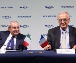 "Naval Group-Fincantieri's Joint Venture Named ""NAVIRIS"""