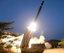 "North Korea Tests ""Super-Large"" Rocket Launchers"