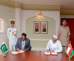 Oman, Pakistan Sign MoU in Military Cooperation