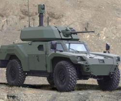 """Otokar Debuts """"AKREP IIe Electric Vehicle"""" at IDEF 2019"""