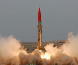 Pakistan Tests Ghaznavi Ballistic Missile