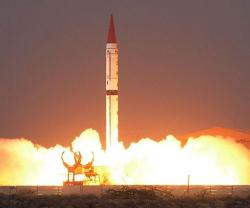 Pakistan Tests Nuclear-Capable Shaheen-III Ballistic Missile