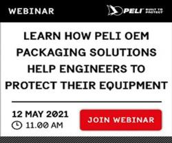 """Peli to Host Free """"Packaging Solutions"""" Webinar to Overcome Logistics Challenges"""