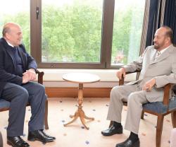 Oman's Defense Affairs Minister Meets British Defense Chief