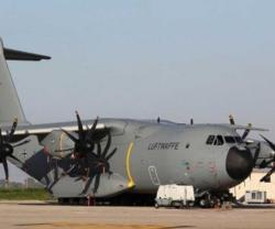 German Air Force Receives Frist Airbus A400M Airlifter