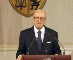 Tunisian President Receives Arab Interior Ministers
