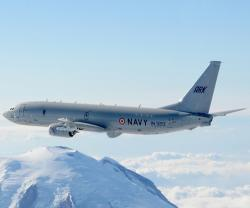 Boeing to Continue Support of Indian Navy's P-8I Fleet