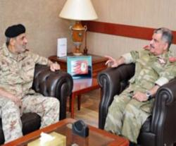 Bahrain National Guard's Director Receives Kuwait's Military Attaché