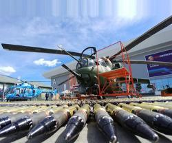 Rostec Exhibits Over 1,000 Military Equipment at ARMY-2019