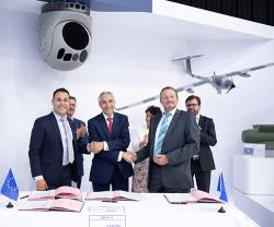 Safran, Hensoldt, Mades Team Up on Targeting System For European MALE Drone
