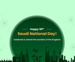 Saudi Arabia Celebrates 90th National Day