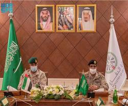 Saudi Deputy Chief of General Staff Meets Commander of UAE Joint Operations