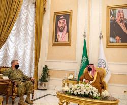 Saudi Deputy Defense Minister Meets Chairman of U.S. Joint Chiefs of Staff
