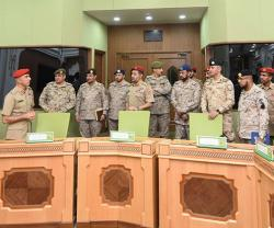Saudi Military Delegation Visits Sultanate of Oman