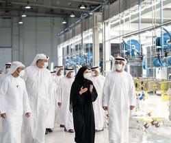 Sheikh Mohamed bin Zayed Visits Strata