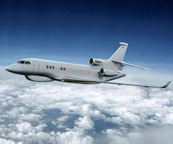 The Falcon 8X Archange to Serve the French Air Force