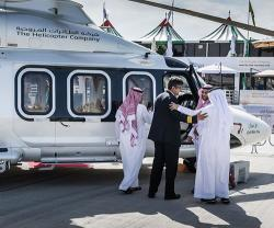 The Helicopter Company Promotes its Global Presence at Dubai Airshow