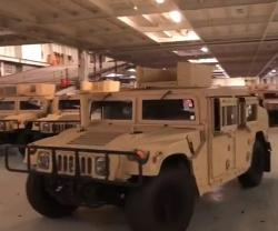 U.S. Delivers New Armored Vehicles to Lebanese Army