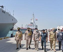 UAE, Egypt Launch 'Zayed 3' Joint Marine Exercise