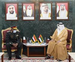 UAE Minister of State for Defense Affairs Receives Chief of Staff of Sudanese Armed Forces