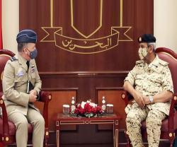 UK's Defence Senior Advisor to Middle East Visits Bahrain