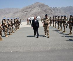 UK Defence Secretary Visits Oman