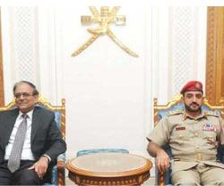 Omani-Indian Military Cooperation Committee Holds 9th Meeting